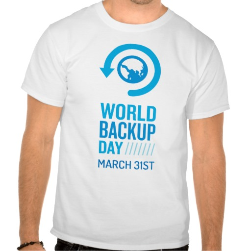 data backup Have you made a data backup on the 31st of March?