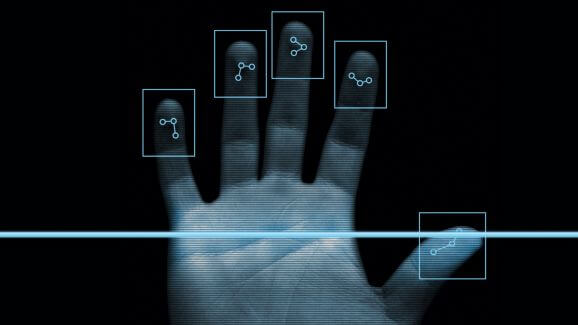 fingerprint recognition by samsung's non touch